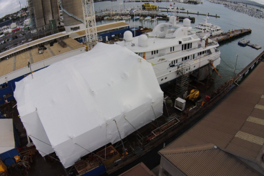 boat shrink wrap