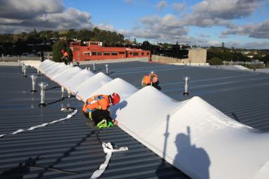 shrink wrap building service