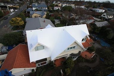 apply shrinkwrap to roof